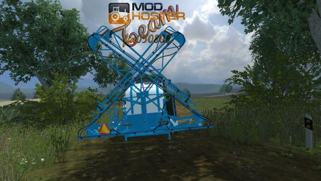 GreatPlains 3P300 Blauweiß Mod for Landwirtschafts Simulator 2013
