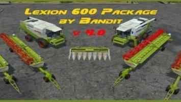 Claas Lexion 600 Pack v4