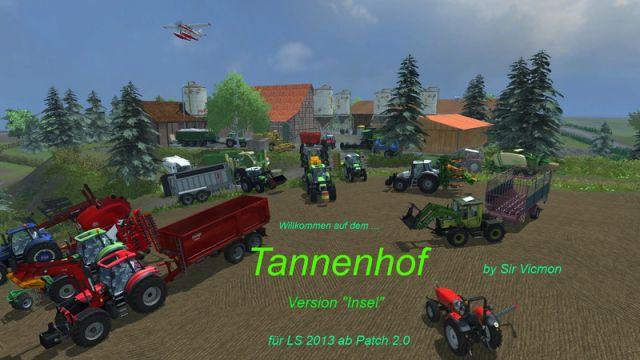 Tannenhof v2 Island