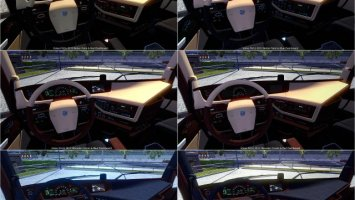Volvo FH16 2012 New Interior & Colored Dashboard ets2