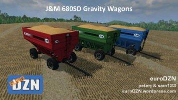 JM 680SD Gravity Wagon