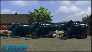 Kinze 1050 Grain Cart Pack LS2013