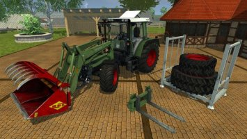 Fendt 380 GTA Turbo More Realistic