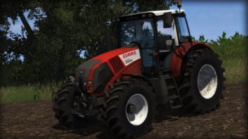 Claas Axion 820 RED DIRT