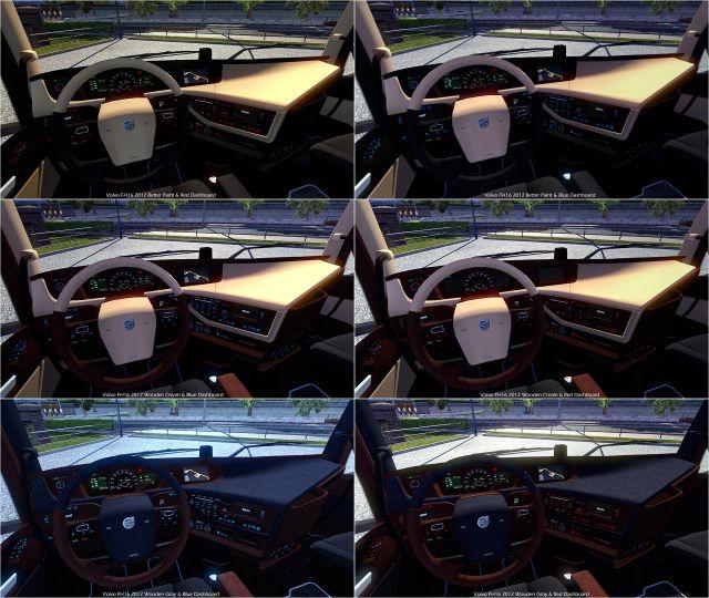 Volvo FH16 2012 New Interior & Colored Dashboard v2.0 - ETS2 Mod ...