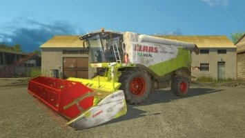 Claas Lexion 560 Dirt