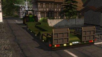Low loader for special transportation v1.1
