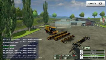 Claas Lexion 780 tt CAT (Multifruit) Version with Autopilot ls2013