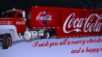 Mack B61 Coca Cola christmas v0.9