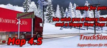 Trucksim Map v 4.5.2