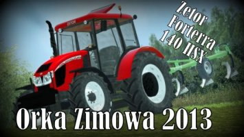 Zetor Forterra 140 HSX + FL ls2013
