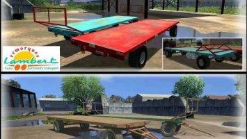 Pack bale trailers Lambert RBR8 v2.0 ls2013