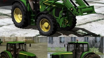 John Deere 6620 Pack Fixed