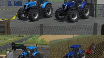 New Holland T7 Exclusive Pack
