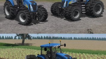 New Holland T8020 V2