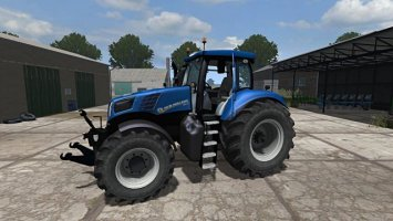 New Holland T8.420 More Realistic