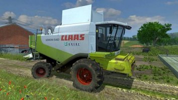Claas Lexion 540 (More Realistic)
