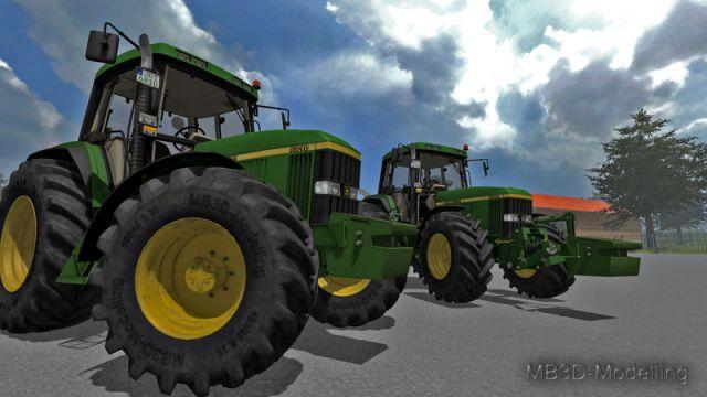 JOHN DEERE 6810 v2 More Realistic LS2013