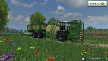 Krone BIG X 650 Cargo v3.0 LS2013