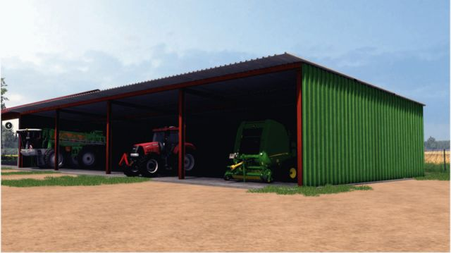 Góra Wiata na maszyny - LS2013 Mod | Mod for Farming Simulator 2013 VS02