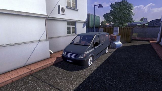 Mercedes Benz Vito Ai Car Ets2 Mod Mod For Euro Truck Simulator