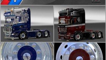 Alcoa XFA2 Michelin Wheels for all Trucks