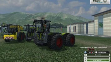 Claas Xerion SaddleTrac 3800