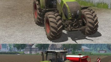 Claas Axion 820 V3 Dirt