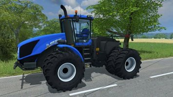 New Holland T9 TwinWheel (More Realistic)