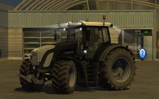 Fendt Vario 936 Black Beauty Mod For Farming Simulator 2013