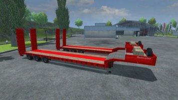 Low Loader GalTrailer Red