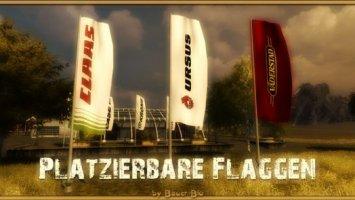 Claas Ursus Väderstad Flags