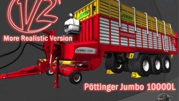 Pöttinger Jumbo 10000L v2 More Realistic