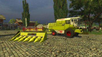 Claas Dominator 106 Pack Normal and MR