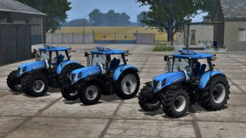New Holland T7.210 More Realistic