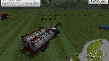 Transport round bale v3 ls2013