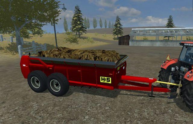 HS 660 Manure Spreader - LS2013 Mod | Mod for Farming