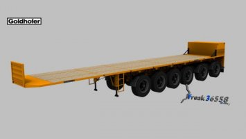 Goldhofer 6 Axis Ballast Franz Bracht Edition