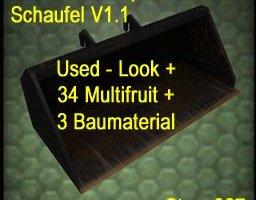 Deutz Teleskoplader-Schaufel V1.1 Used + Multifruit (37) ls2013