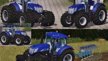 New Holland T7070 BluePower Pack