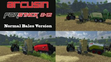 Arcusin ForStack 8 12 Normal Bales
