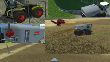 Manure Tank for Claas Xerion 5000 Saddle Trac