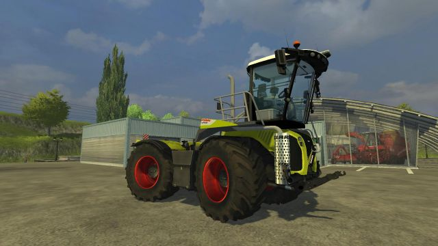 Claas Xerion 5000 Saddle Trac LS2013