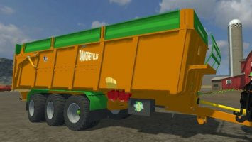 DANGREVILLE 32 TONNES REHAUSSES GRILLAGEES V2.0 ls2013