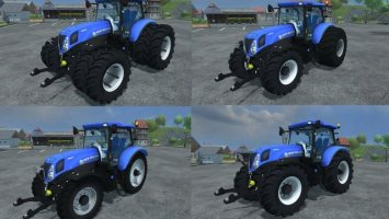 New Holland T7 210 V 1.1