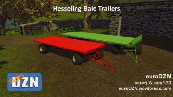 Hesseling Bale Trailers ls2013