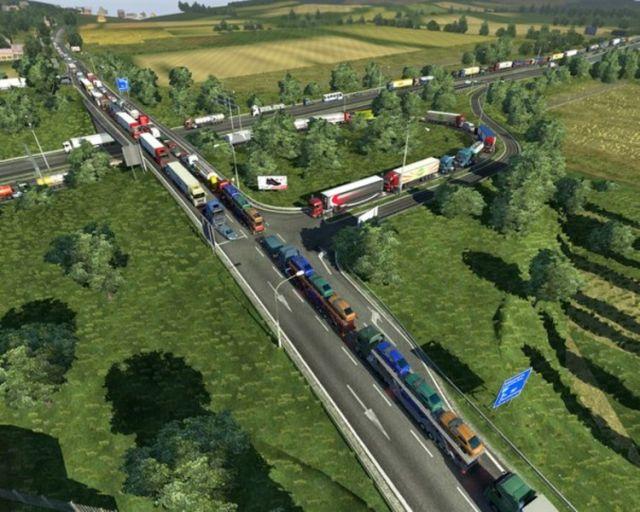 Stau Mod Traffic Jam v1 9 22 - ETS2 Mod | Mod for Euro Truck