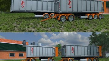 Fliegl TMK Cedric Transports Edition Trailers Pack ls2013