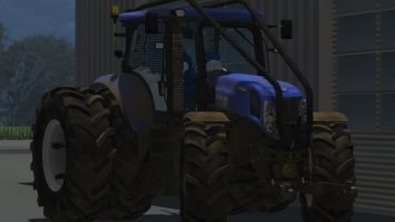 New Holland T7.210 Dirty Forst Version