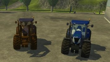 New Holland 7070T Blue Power FL